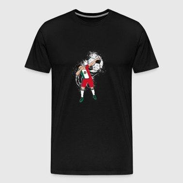 (Gift) Mexican soccer player 004 - Men's Premium T-Shirt