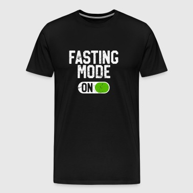 Fasting Mode On Intermittent Fasting Diet - Men's Premium T-Shirt