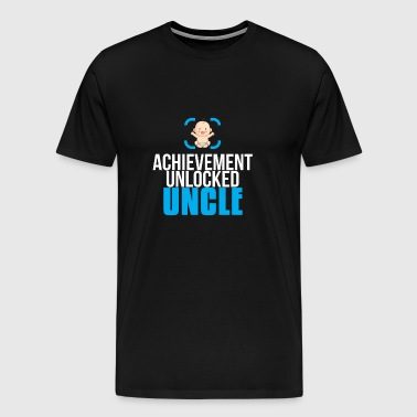 New Uncle Gift Achievement Unlocked Uncle - Men's Premium T-Shirt