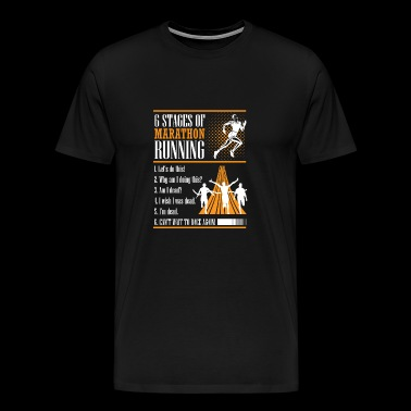 Marathon Running - Men's Premium T-Shirt