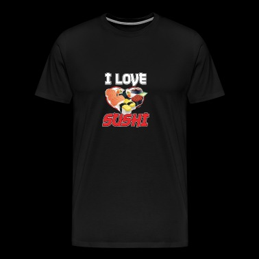 I Love Sushi - Men's Premium T-Shirt