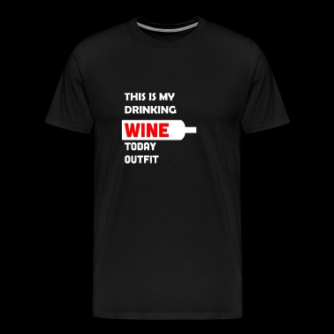 Wine lovers wine red wine gift - Men's Premium T-Shirt