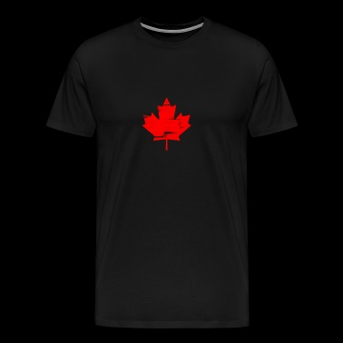 Canada Maple Leaf National Symbol Canadian Pride - Men's Premium T-Shirt
