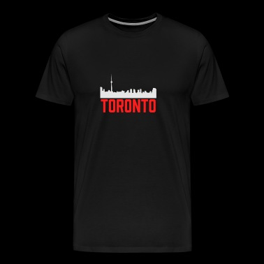 Toronto Skyline Ontario City Canada Proud Canadian - Men's Premium T-Shirt