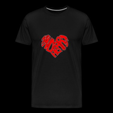 Kind Heart Spread The Love And Kindness Not Bully - Men's Premium T-Shirt