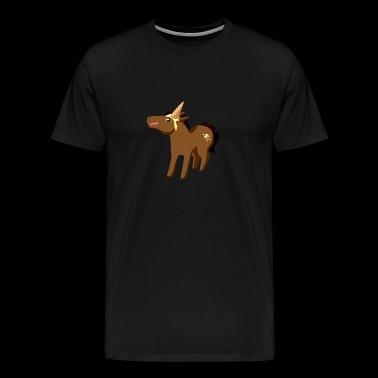 funny Unicorn - Men's Premium T-Shirt