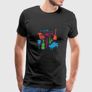 Instruments - Men's Premium T-Shirt