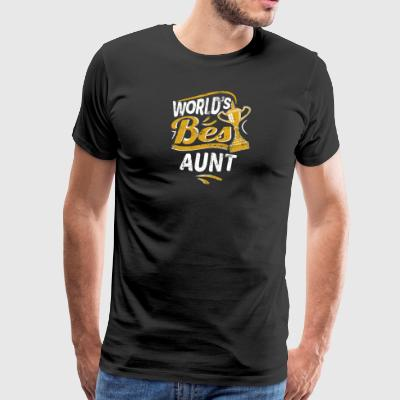 World's Best Aunt - Men's Premium T-Shirt
