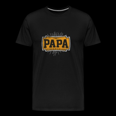 PAPA The Man The Myth The Legend - Men's Premium T-Shirt