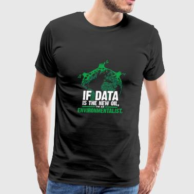 Data Environmentalist - Men's Premium T-Shirt
