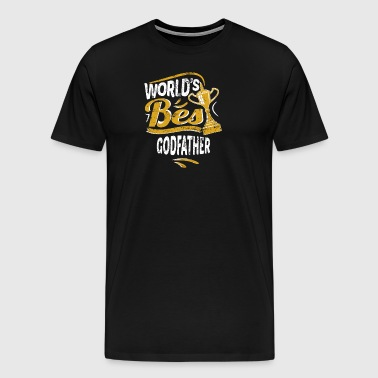 World's Best Godfather - Men's Premium T-Shirt
