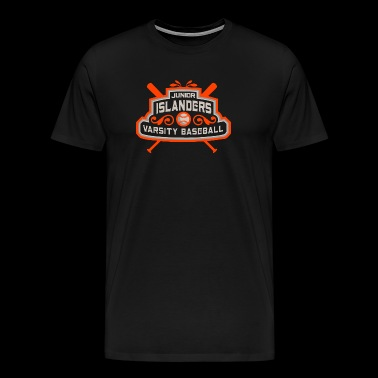 JUNIOR ISLANDERS VARSITY BASEBALL - Men's Premium T-Shirt