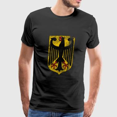 German Coat of Arms Germany Symbol - Men's Premium T-Shirt
