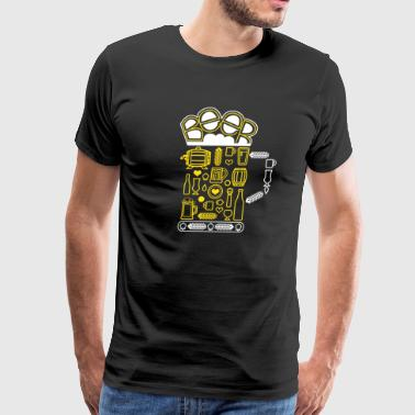 Beer Mosaik - Men's Premium T-Shirt