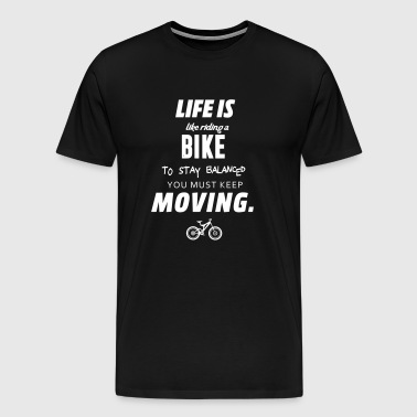 Riding a bike - Men's Premium T-Shirt
