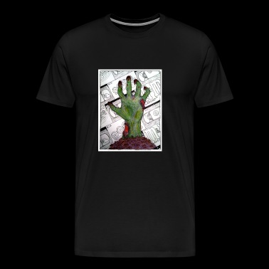 Movie Night of the Living Dead - Men's Premium T-Shirt