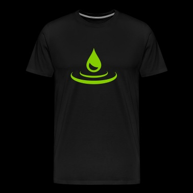 drop - water - Men's Premium T-Shirt