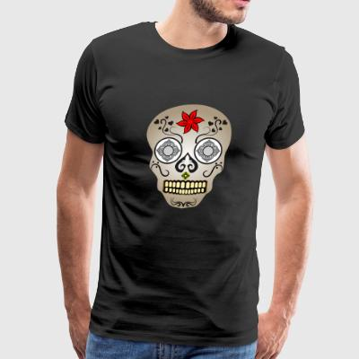LAS VEGAS EDITION SKULL - Men's Premium T-Shirt