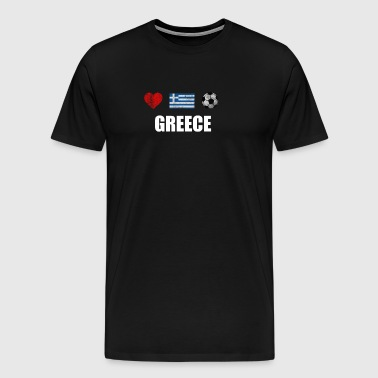 Greece Football Shirt - Greece Soccer Jersey - Men's Premium T-Shirt