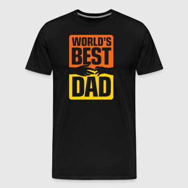 Best Father Of The World - Men's Premium T-Shirt