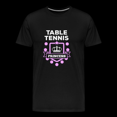 Table tennis - Table tennis princess! - Men's Premium T-Shirt
