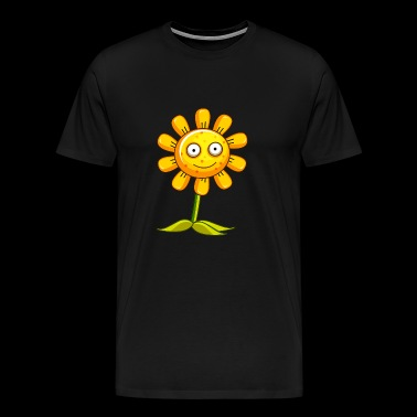 Sunflower with freckles gift idea - Men's Premium T-Shirt
