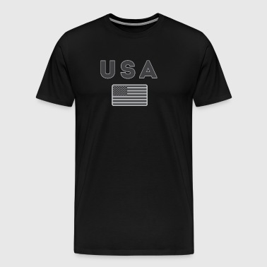 USA Tactical Line - Men's Premium T-Shirt