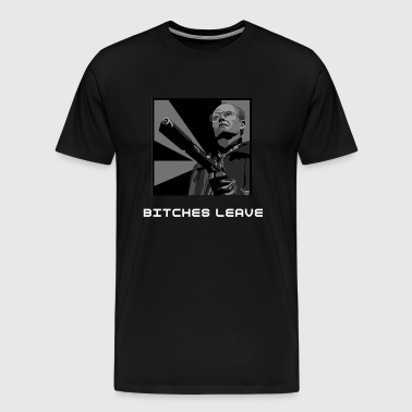 Clarence Boddicker, Bitches Leave t shirt. - Men's Premium T-Shirt
