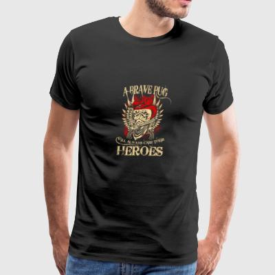 HERO PUG - Men's Premium T-Shirt