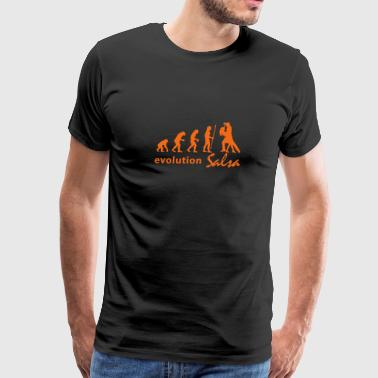 evolution_salsa - Men's Premium T-Shirt