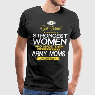Army Moms Military Pride T Shirt - Men's Premium T-Shirt