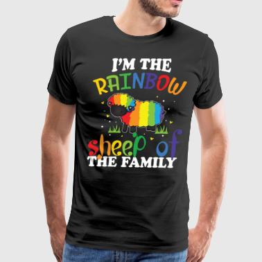 I'm The Rainbow Sheep Of The Family T Shirt - Men's Premium T-Shirt