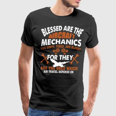 The Aircraft Mechanics T Shirt - Men's Premium T-Shirt
