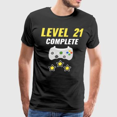 Level 21 Complete - Men's Premium T-Shirt