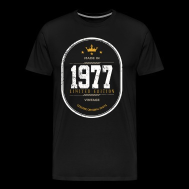 Made In 1977 Limited Edition Vintage - Men's Premium T-Shirt
