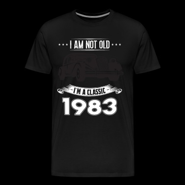 I am not old I m a classic Born in 1983 - Men's Premium T-Shirt