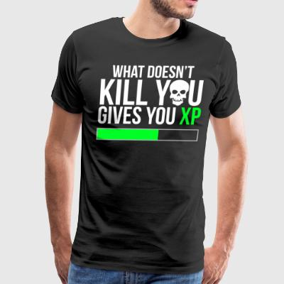 What doesn't kill you Video Game T-shirt - Men's Premium T-Shirt
