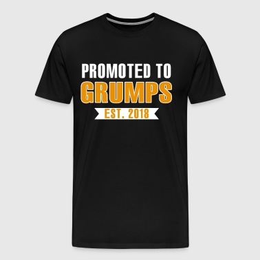Promoted To Grumps Est. 2018 - Men's Premium T-Shirt