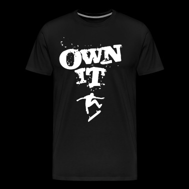 Limited Edition WB Own It Tees T-shirt - Men's Premium T-Shirt