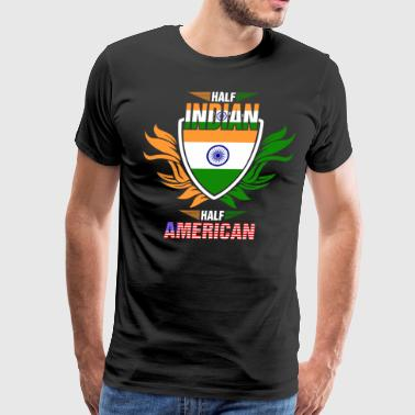 Half Indian Half American - Men's Premium T-Shirt