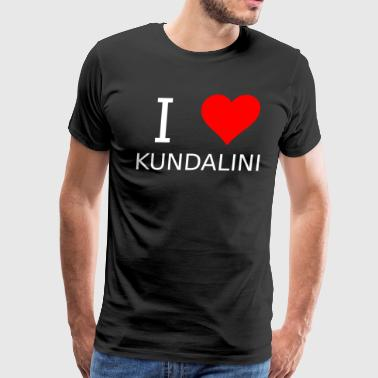 I love Kundalini - Men's Premium T-Shirt