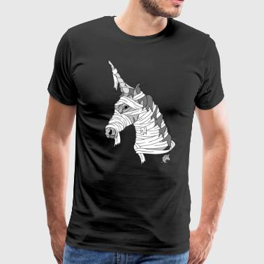 Mummy Unicorn - Men's Premium T-Shirt