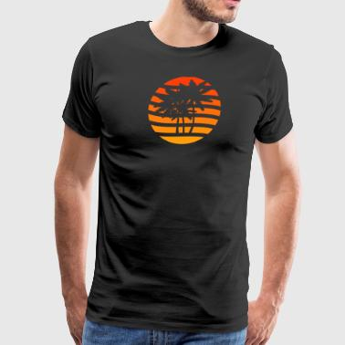 Summer Palm - Men's Premium T-Shirt