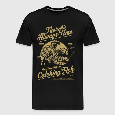 One More Catching Fish - Men's Premium T-Shirt