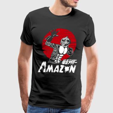 MASKED KAMEN RIDER AMAZON - Men's Premium T-Shirt