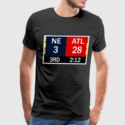 Falcons Lead 28-3 - Men's Premium T-Shirt