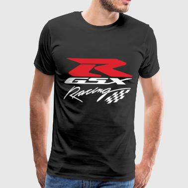 Suzuki Gsxr Racing Motorcycle Printed Super Premiu - Men's Premium T-Shirt