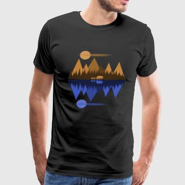 Bear and Cubs #2 - Men's Premium T-Shirt