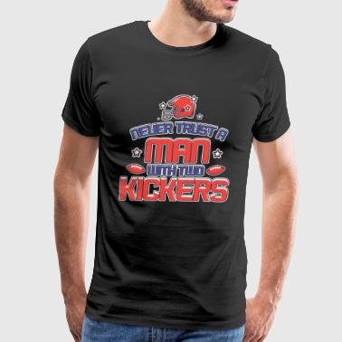 WITH TWO KICKERS - Men's Premium T-Shirt