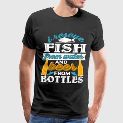 I Rescue Fish From Water T Shirt - Men's Premium T-Shirt